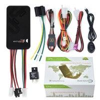 GT06 מיני רכב GPS Tracker SMS GSM GPRS רכב מערכת מעקב באינטרנט צג מכשיר איתור אזעקת שלט רחוק עבור אופנוע