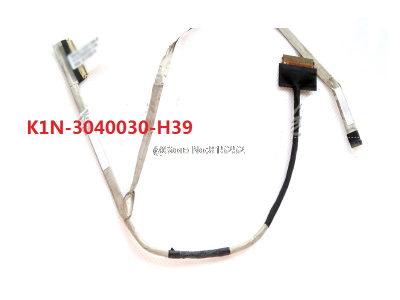 Laptop LCD LVDS Screen Cables For MSI K1N-3040030-H39 MS-16J1 MS16J1 MS-16J5 1920*1080 New and Original for thinkpad x1 carbon led lcd laptop screen b140xtn02 5 1366x768 lvds 40pin original new