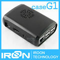 case G1: Raspberry PI 3 model B Black Case Cover Shell Enclosure ABS Plastic Box for Raspberry PI 2 Model B and Model B+