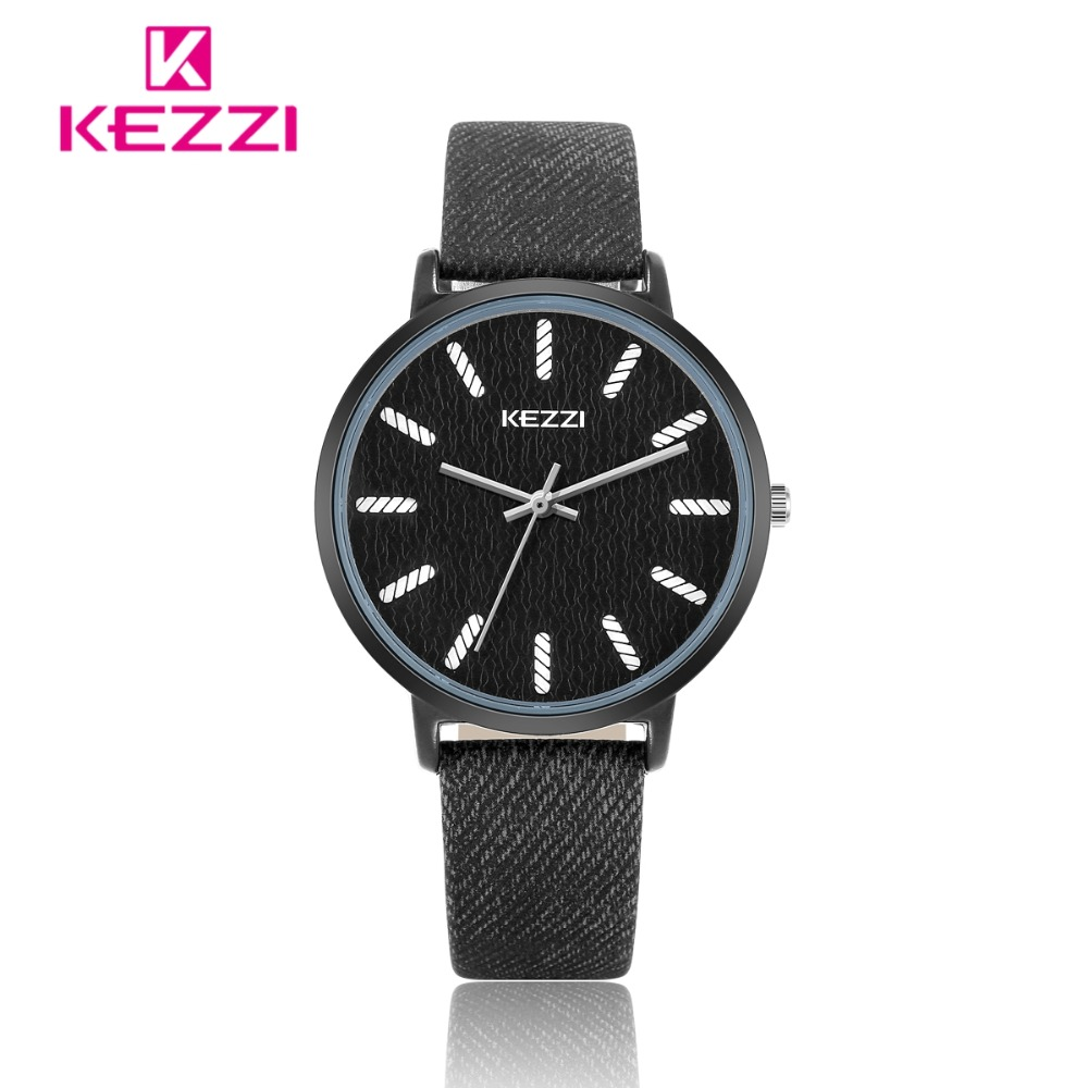 KEZZI Dameshorloge Casual Topmerkhorloge Dames Klok Denim Blauw - Dameshorloges - Foto 3