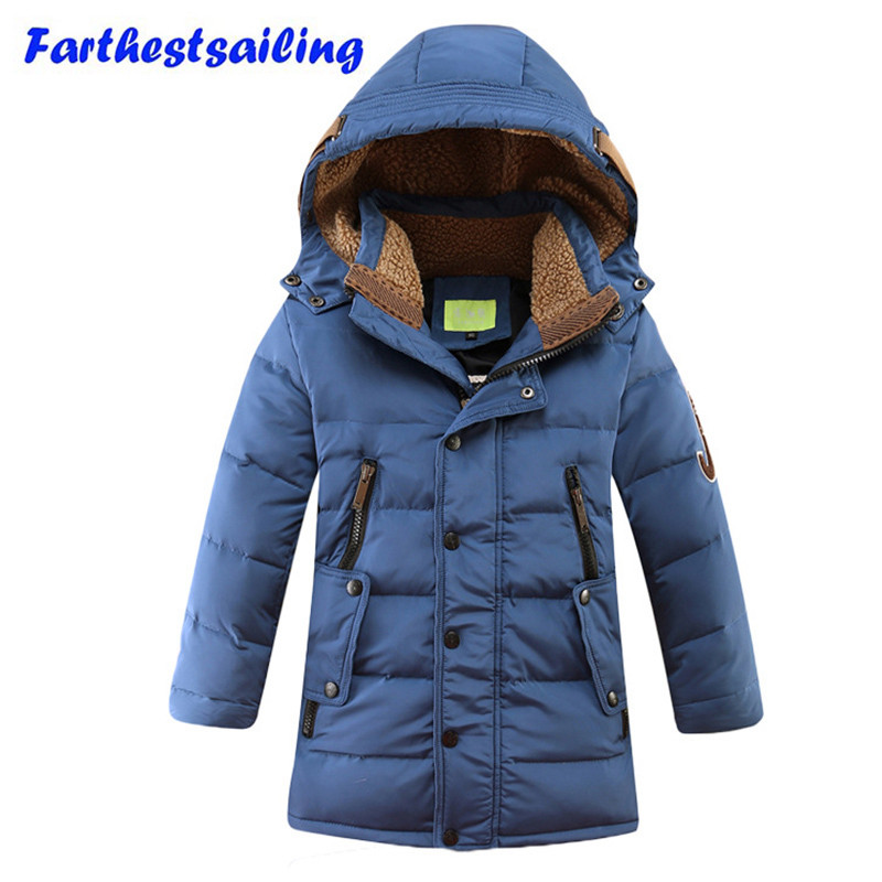 Duck Down Jacket For Boy Snow Wear Parka Outerwear&coats Teenage Winter Jackets Children Coat Kids Clothes Made Of Goose Feather children winter coats jacket baby boys warm outerwear thickening outdoors kids snow proof coat parkas cotton padded clothes