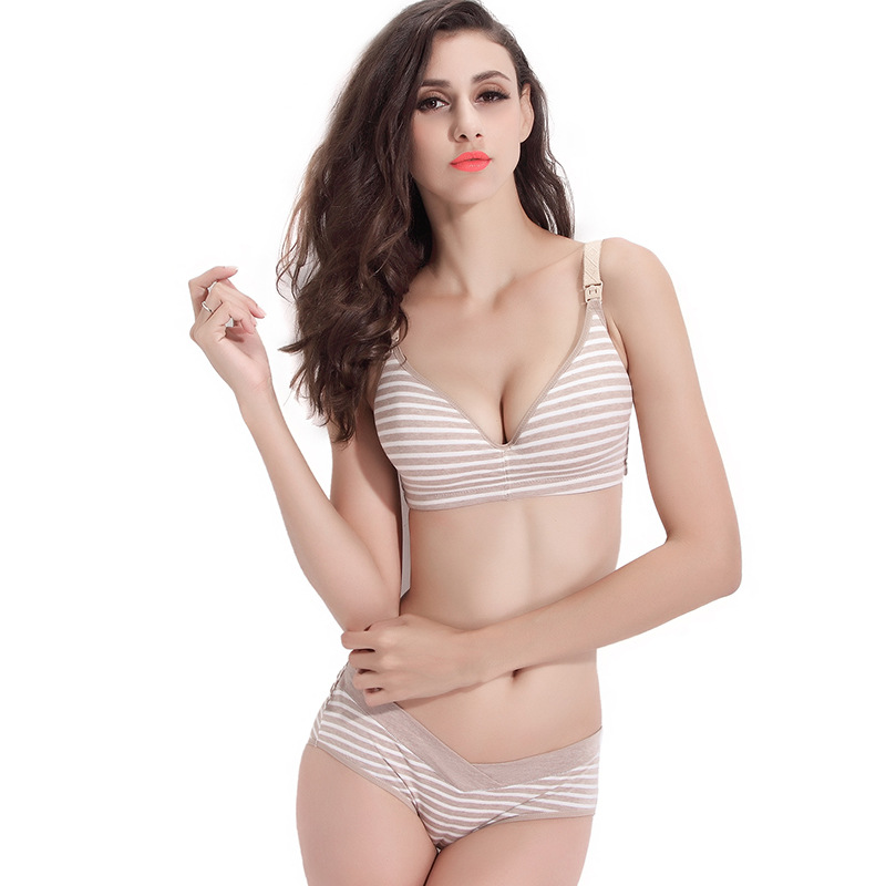 Aliexpress.com : Buy Strapless bra Maternity Nursing Bra Wire Free ...