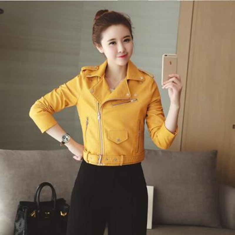 Manteau veste femme jaune