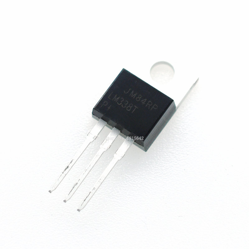 10PCS/LOT LM338T LM338 Voltage Regulator 5A 1.2V To 32V Output Is Short-circuit Protected TO-220