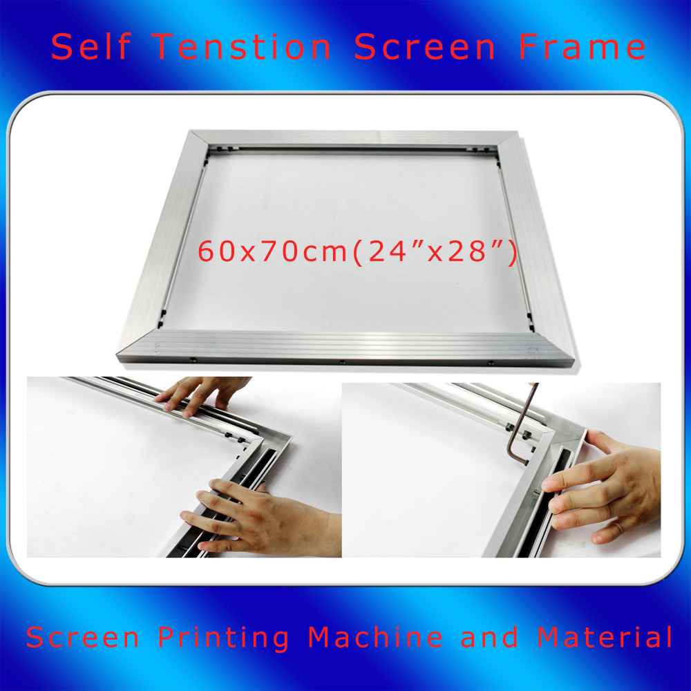 60x70cm Size Screen Frame Brand New Self tensioning Screen Frame For Screen Printing Kit A Multi