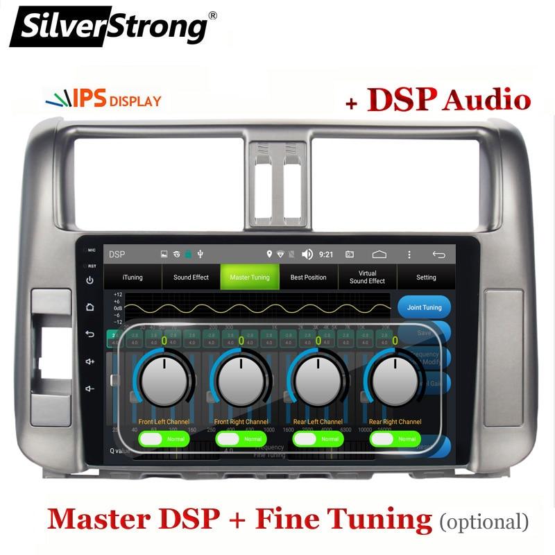 Cheap SilverStrong IPS 9inch Android9.0 4G modem Car DVD for Toyota Land cruiser Prado 150 LC150 GPS 2010 2011 2012 2013 Radio no DVD 1
