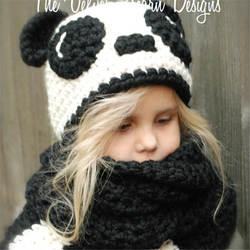 Дети зимой шарф шляпа наборы дети теплый толстый трикотажная эластичная шапочка Pom Hat меховые шапки