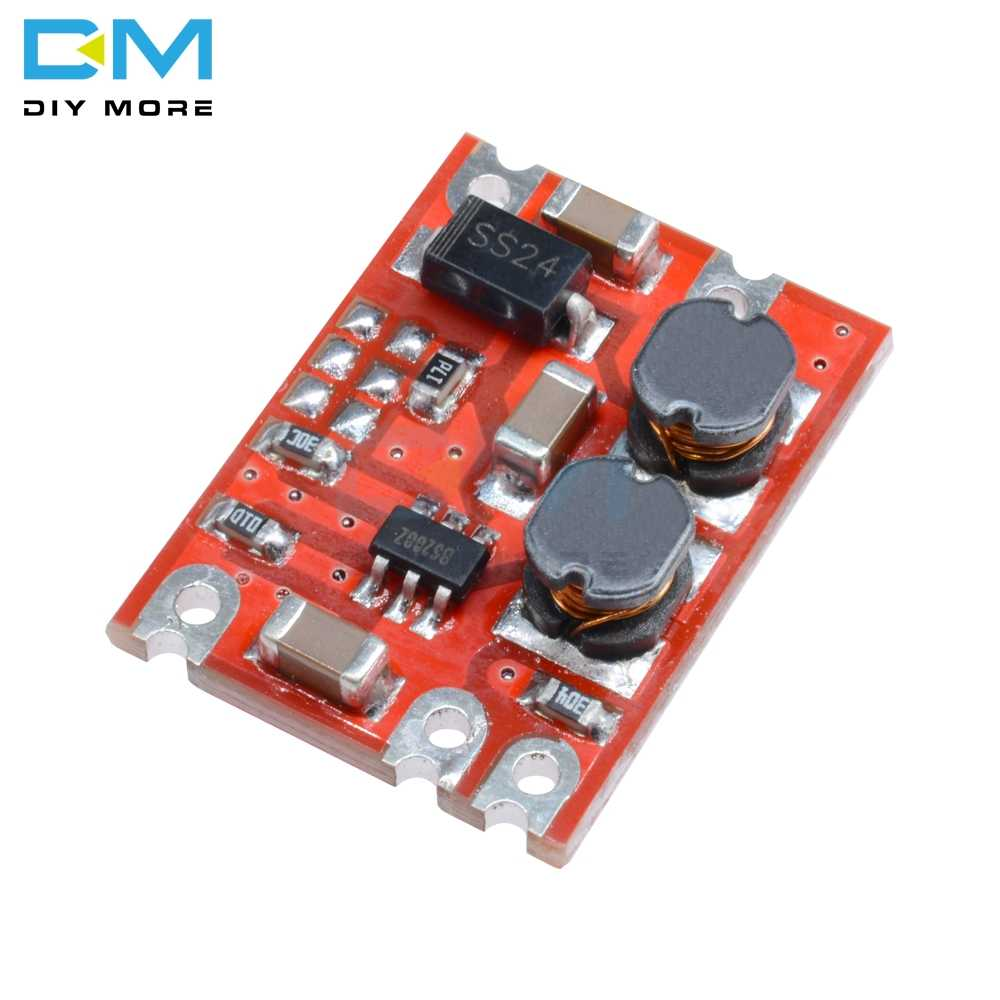 S09 DC-DCอัตโนมัติBuck Boost Power Boost Step UpและDown Board Input 3V-15V 3.3V/5V/4.2V/9V/12V DIY PCB