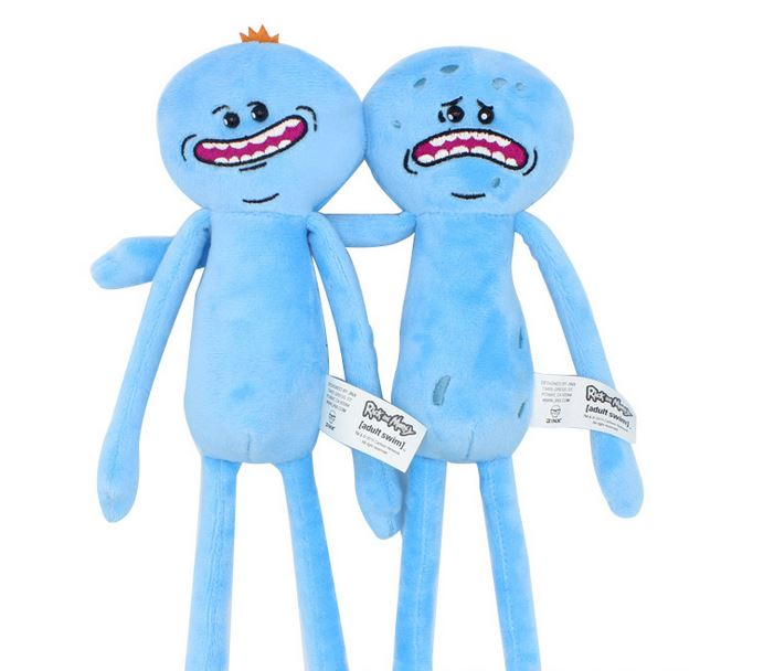 Unique original Gifts high quality rick and morty Cute Girls boys Toys Doll Plush Toys sven