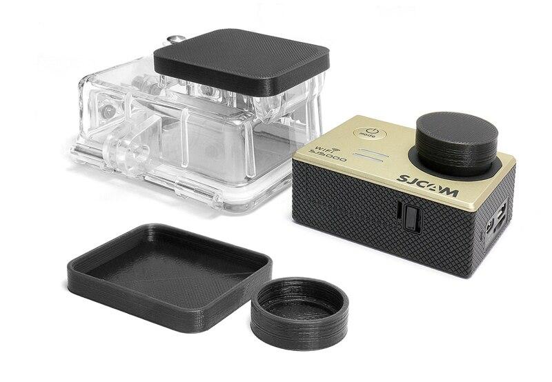 Linsen Schutz für GoPro HD Hero 3 3 Lens Housing Cap Protector Abdeckung 1x