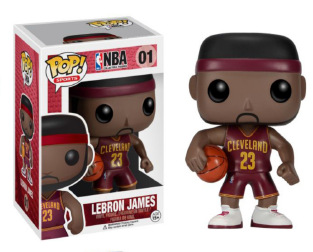 Funko pop Official LeBron James NBA Basketball Super Star Player Vinyl Figure Bobble Head James COLLECTION VERSION Hot  funko pop marvel loki 36 bobble head wacky wobbler pvc action figure collection toy doll 12cm fkg120