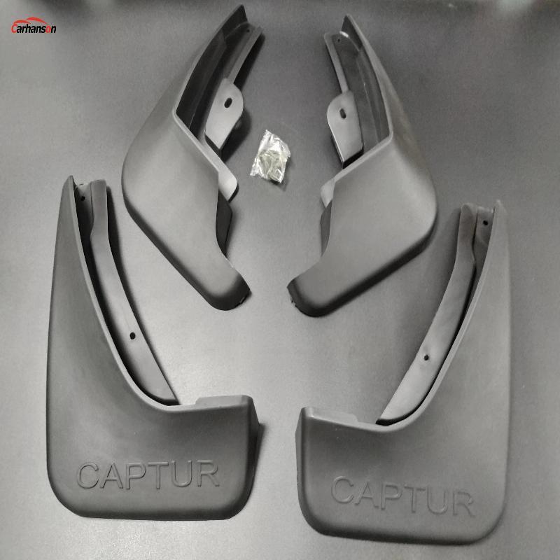 For Car Styling Accessories Renault Captur 2014 2016 2017 2018 2019 Mud Flaps Splash Guards Fender