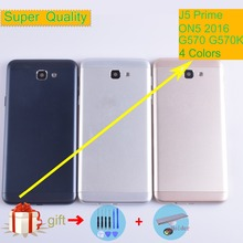 For Samsung Galaxy J5 Prime ON5 2016 G570 G570K Housing Battery Cover Back Cover Case Rear Door Chassis Shell Replacement 10pcs lot for samsung galaxy j5 prime on5 2016 g570 g570k housing battery cover back cover case rear door chassis shell