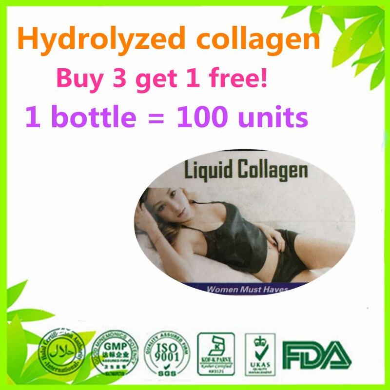 (Buy 3 Get 1 Free) IPL-GLUTATHIONE +CO Q10+VITAMIN C+Liquid Collagen Beauty Formula 100 units напиток mychoice nutrition my fitness collagen liquid wellness shot шоколад 9 x 60 мл