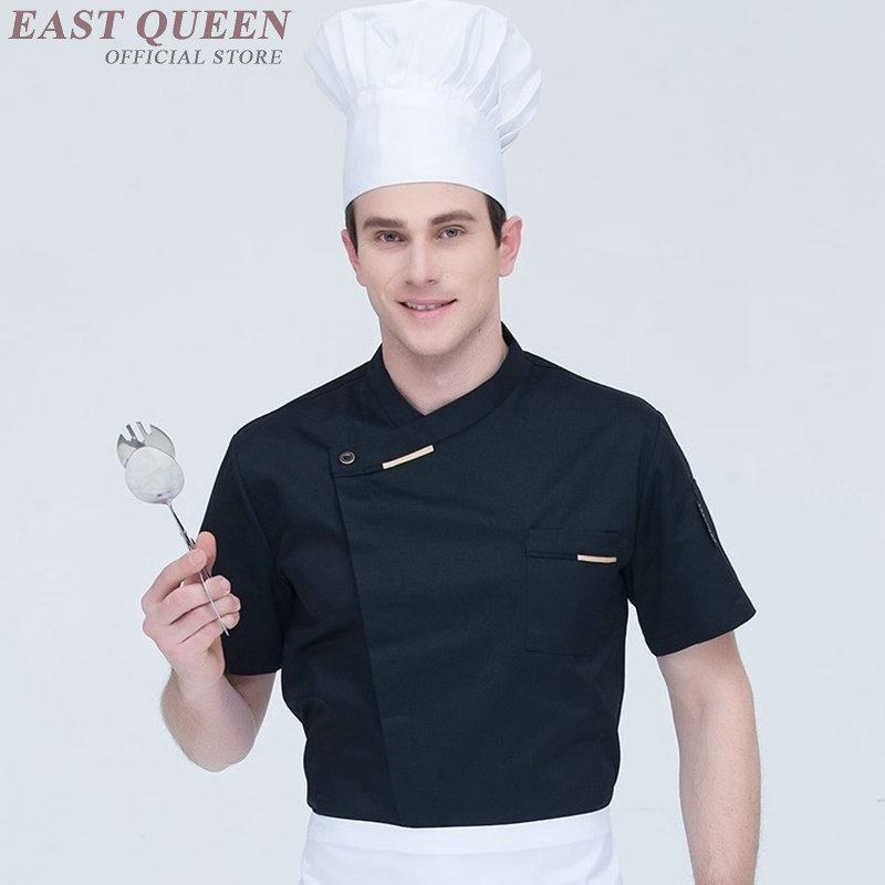 Food Service Chef Jacket Chinese Dragon Cook Clothes Women Men Hotel Kitchen Chef Uniform Clothing Restaurant Uniforms DD1089 Y