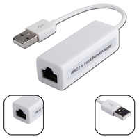 Noyokere Mini Usb Ethernet Adapter Usb 2.0 Scheda di Rete Usb per Internet RJ45 Lan 10Mbps per Mac Os