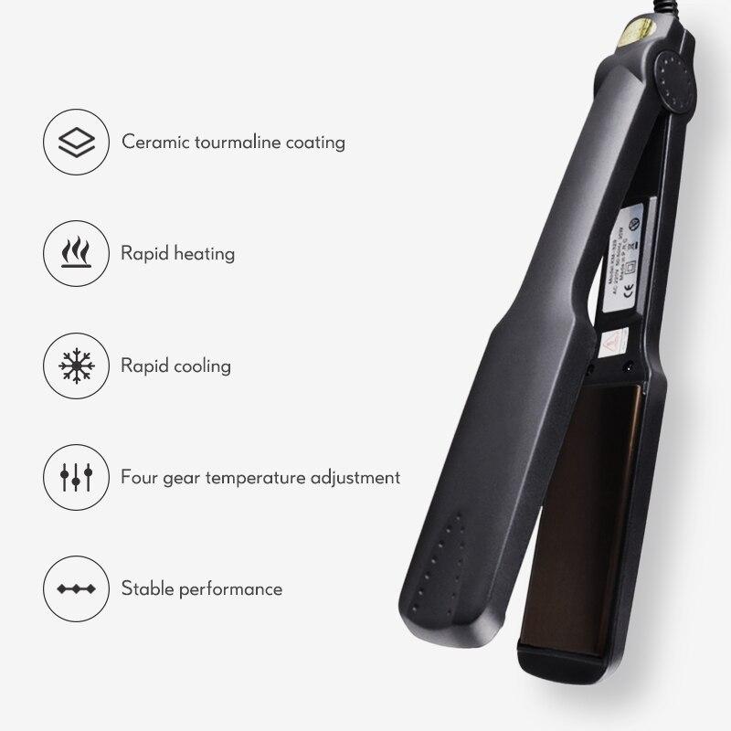 Profissional eletrônico alisador de cabelo qualidade molhado
