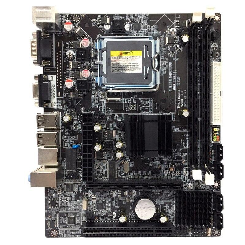 G41 Lga775 Desktop Motherboard For Intel Chipset Ddr3 Double Usb 2.0 Lga 775 Mainboard For Computer Pc