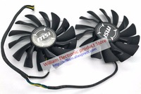 Original For MSI RX580 570 ARMOR Graphics Card Cooling Fan PLD09210S12HH 12V 0 40A