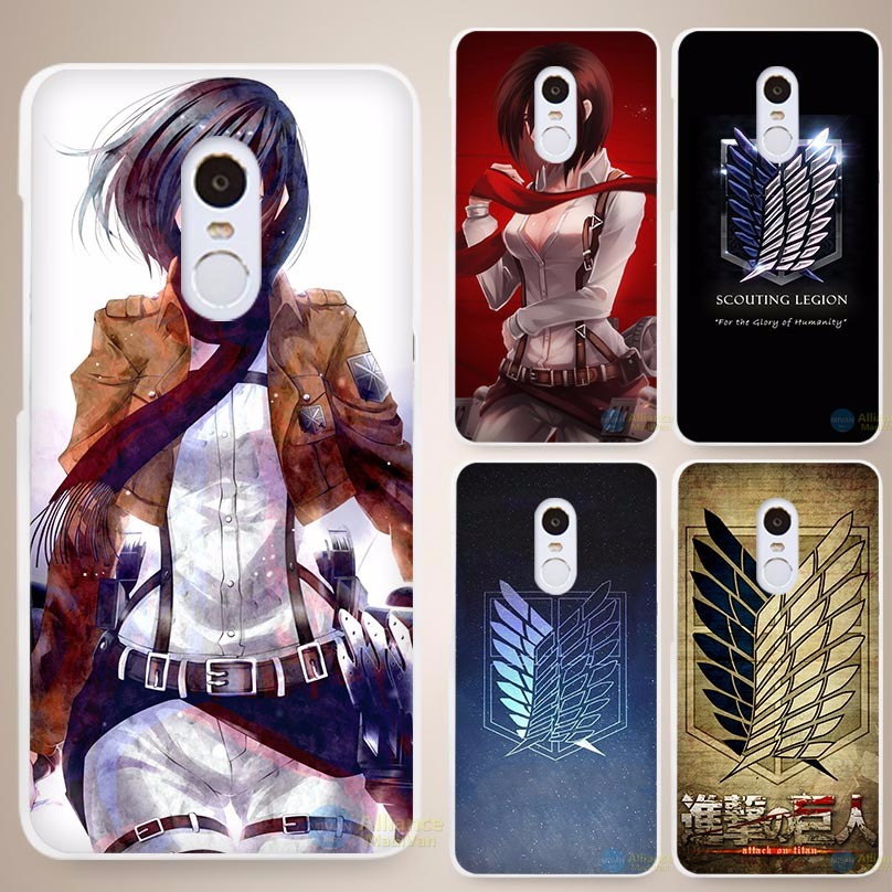 Attack On Titan Phone cases for Xiaomi Mi