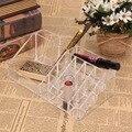 High Quality Acrylic Crystal Cosmetic Transparent Organizer Makeup Jewelry Lipstick Brush Insert Holder Box 22.3 x 12.7 x 8cm