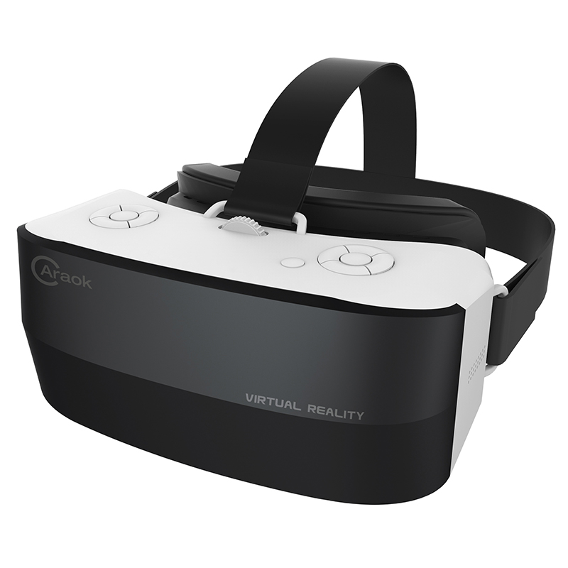 Caraok V9 Androide 4.4 All-in-One 3D VR Gafas de Realidad Virtual Allwinner A33