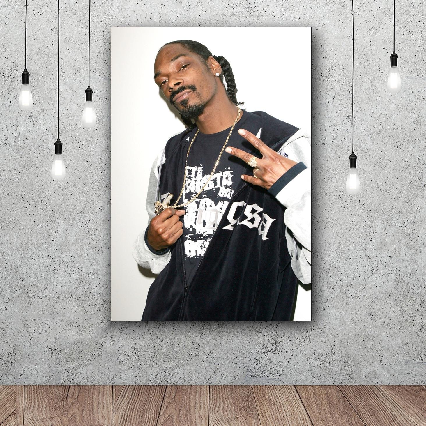 Snoop Dogg Custom Silk Poster Wall Decor