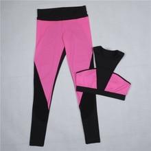 Simenual Push up fitness women's tracksuits bra and leggings 2PCS suit athleisure active mesh patchwork tracksuit pants bralet