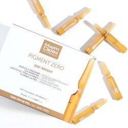 Original martiderm pigmento zero dsp-manchas escuras brilhantes ampolas 30x2ml face sarda remover o soro de branqueamento