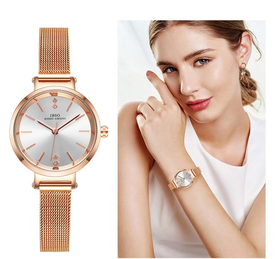 Ensemble de collier bracelet de montre à quartz créative pour femmes