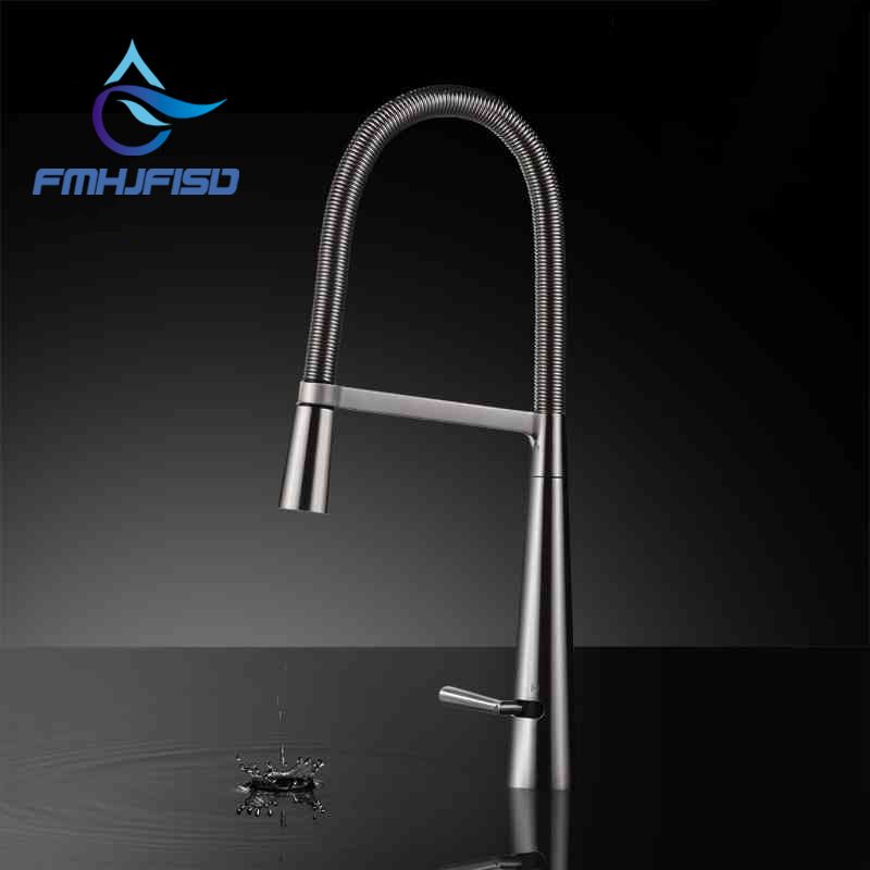 Kitchen Faucet Sink Pull Out 360 Degree Rotation Single Handle Hot And Cold Mixer Taps