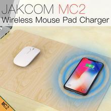 JAKCOM MC2 Mouse Pad Sem Fio Carregador venda Quente em Carregadores como tomos frete gratis 6 v bateria para carro de brinquedo