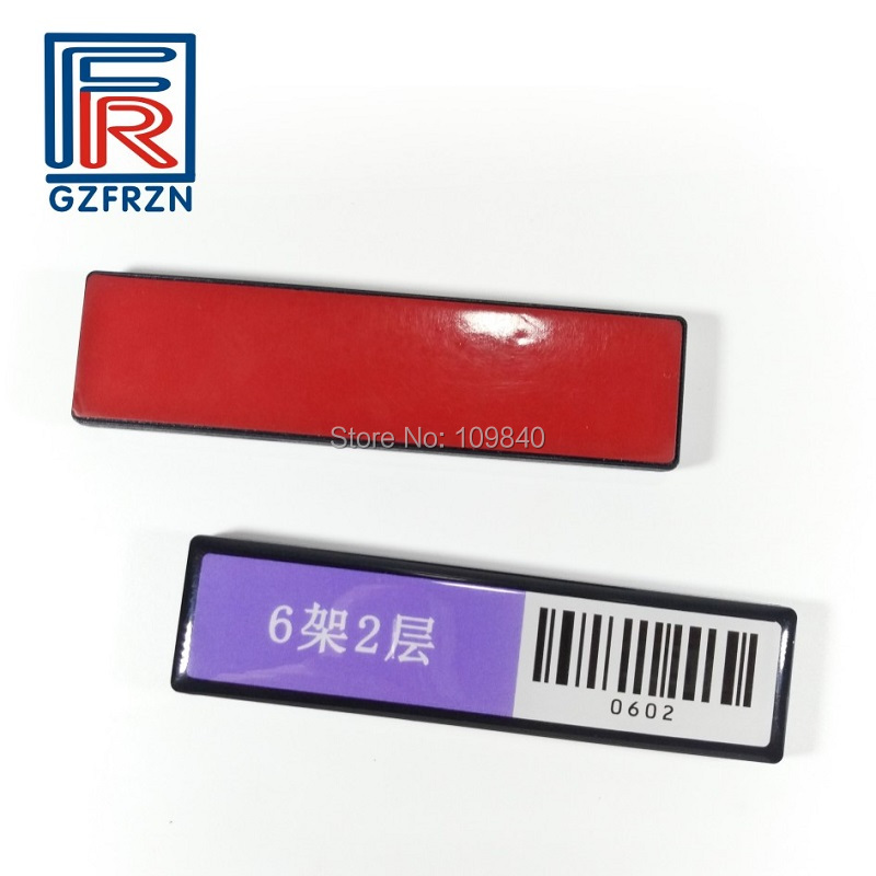 1000pcs Asset management Tracking UHF Shelf tag with ISO18000-6c Alien H3 chip waterproof Anti metal tags 50pcs 74 21mm rfid gen2 uhf paper tag with alien h3 chip used for warehouse management