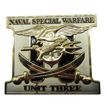 High Quality Naval Special Warfare Die Casting Zinc Alloy Challenge Coins high quality export die casting mold
