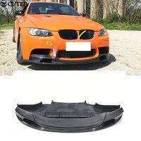 E90 E92 E93 M3 GTS V углеродное волокно спереди для губ для BMW E90 E92 E93 M3 Комплект кузова 05 13
