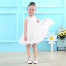 цена на Summer Baby Girl Clothes Sleeveless dress Cute Kids Party Dresses for Kids girls Princess Dress Tutu Mesh Clothes