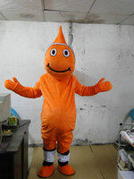 2014 Hot Sprzedaż Red clown fish Maskotki Kostium Halloween Cartoon maskotka kostium