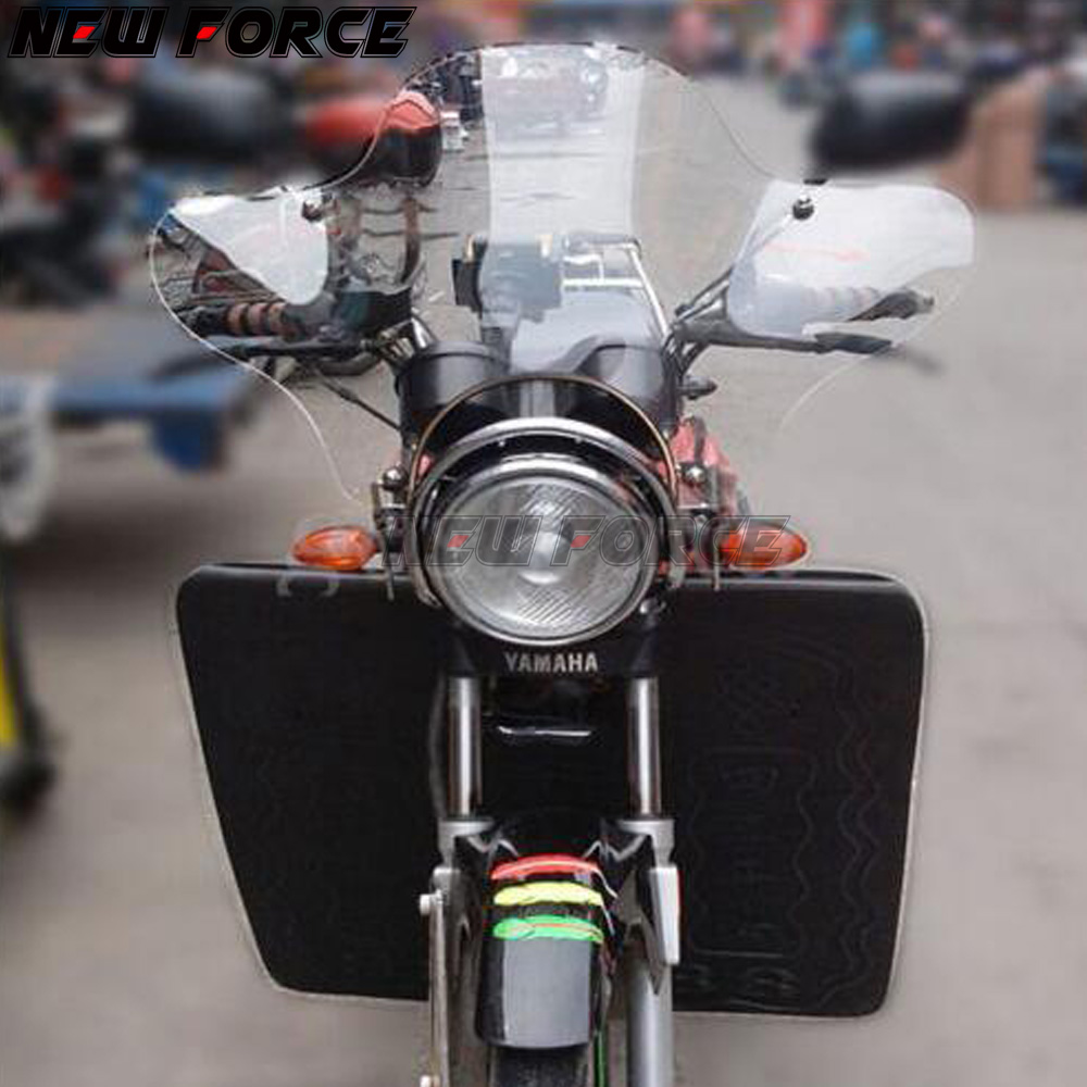 Small Windscreen Windshield For Softail XLH883 XLH1200 Super Low Wide Glide WI