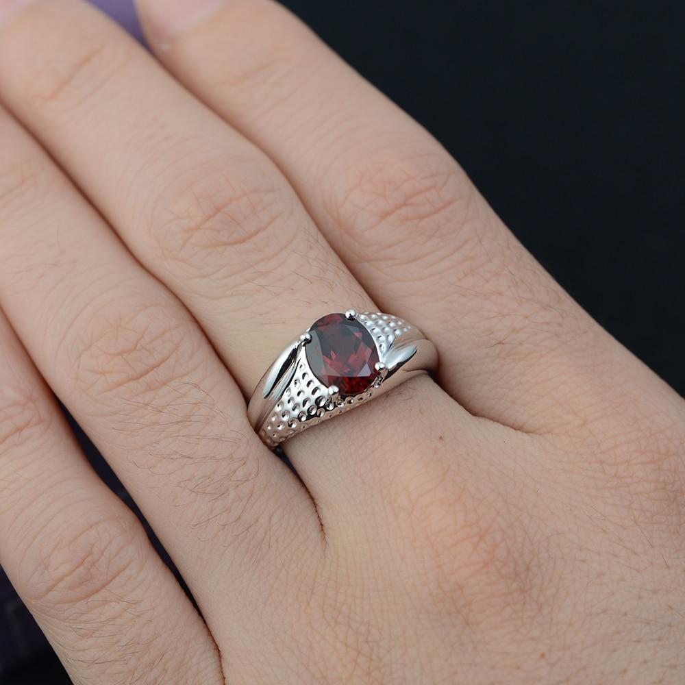 Leige Jewelry Rainbow Topaz Hochwertige Mystic Topaz Ring 925 Silber - Edlen Schmuck - Foto 2