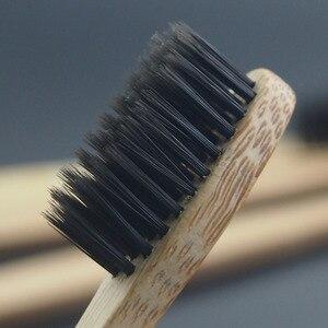 Image 2 - DR. PERFECT 100 шт./лот деревянная мягкая Экологически чистая бамбуковая язык зубная Щетка скребок уход за полостью рта мягкая щетина