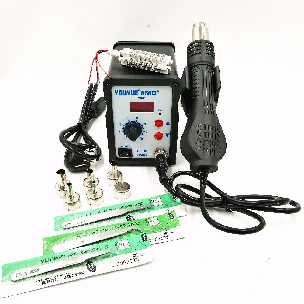 Heteluchtpistool 700W YOUYUE 858D + ESD-soldeerstation Digitaal - Lasapparatuur - Foto 5