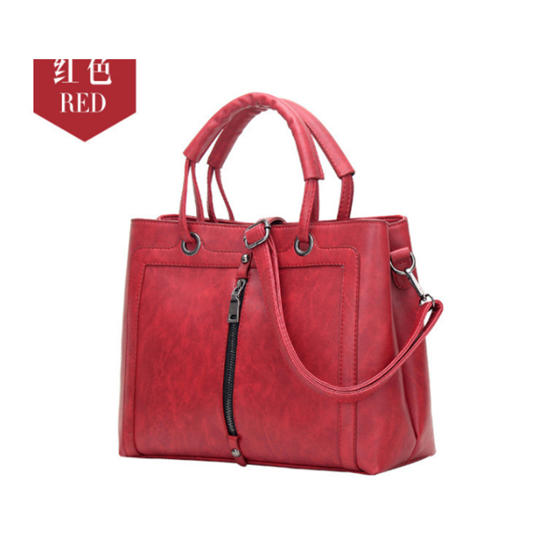 Women Leather gray Handbags Famous Brand Tote Bag Designer Handbag Spring Female Messenger Crossbody Bag For Women Bolsos Sac cecelia 2016 new women leather handbags litchi ladies messenger bag cat crossbody bag brand designer tote bag bolsos muj
