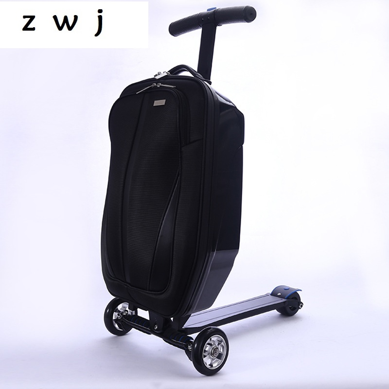 Child Scooter Luggage With Wheels Skateboard Carry ons Luggage Travel Trolley Case Child Scooter Luggage With Wheels Skateboard Carry ons Luggage Travel Trolley Case