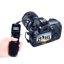 Viltrox камера ЖК-таймер дистанционное управление спуска затвора для Canon 1200D 760D 750D 700D 650D 600D 550D 100D 60D 70D DSLR