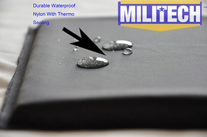 "Image 5 - MILITECH Ballistic Panel BulletProof Plate NIJ Level 3A & NIJ 0101.07 Level HG2 6"" x 6"" Pair Aramid Soft Side Insert Body Armor"