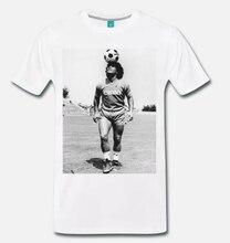 f1e3c69305d6f Camiseta MAGLIA DIEGO ARMANDO MARADONA NAPOLI CALCIO vendimia ANNI 80 S-3XL  hombres camiseta 2018 moda o-cuello clásico