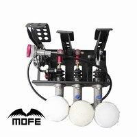 MOFE Floor Mounted Bias Hydraulic Pedal Box Clutch Kit Car Master Cylinder 0.75inch