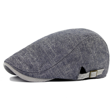 DT587 Fashion Washed Jeans Material Gatsby Newsboy Cap Men Spring Autumn Ivy Hat Golf Driving Flat Cabbie Flat Unisex Berets Hat voboom wool tweed men women newsboy 8 panel flat cap spring autumn breathable gatsby ivy cabbie hat with silk lining 132