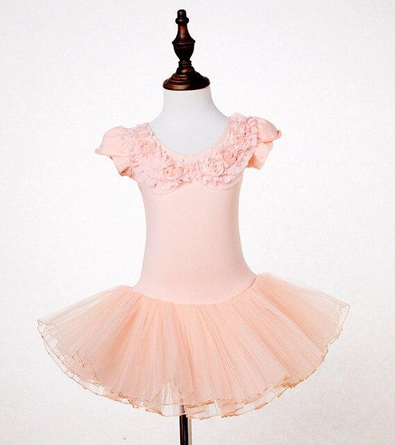 63662b98bc7b 2 9 Years Kids Ballet Outfit Girls Ballet Tutu Gymnastic Leotard ...