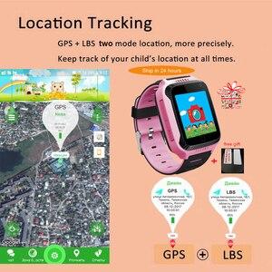 Image 2 - Twox Smart Watch Baby Q528 Kinderen Gps Smart Watch Met Gps Tracker Camera Zaklamp Horloge Telefoon Smartwatch Pk Q90 Q100 Q50